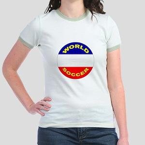 Serbia and Montenegro Jr. Ringer T-Shirt