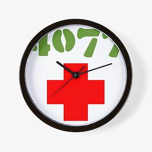 4077 Mash Wall Clock
