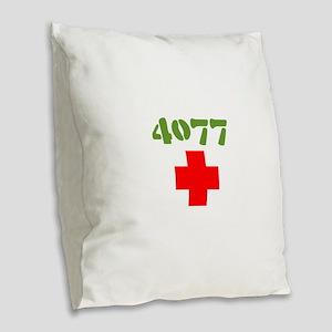 4077 Mash Burlap Throw Pillow