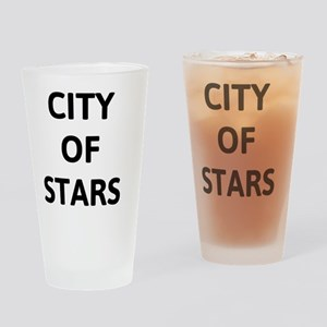City of Stars-L.A. Drinking Glass