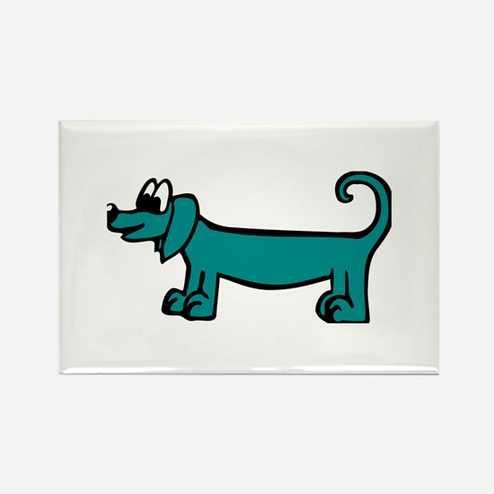 Dachshund - Dog Rectangle Magnet