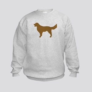 Golden Retriever - Dog Kids Sweatshirt