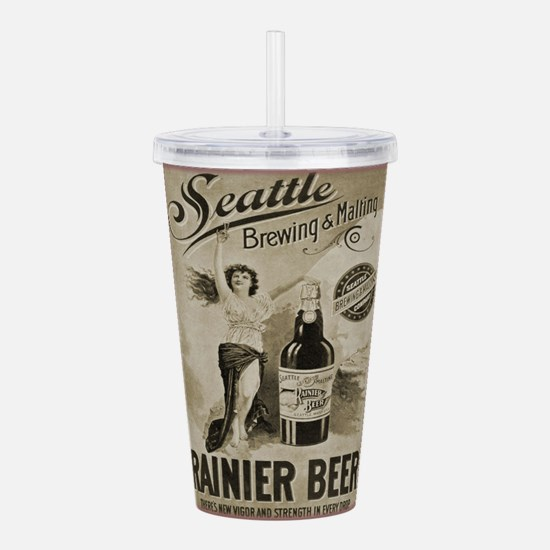 Rainier Beer Acrylic Double-wall Tumbler
