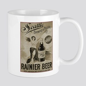 Rainier Beer Mugs