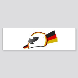 Sebastian Vettel Helmet Bumper Sticker