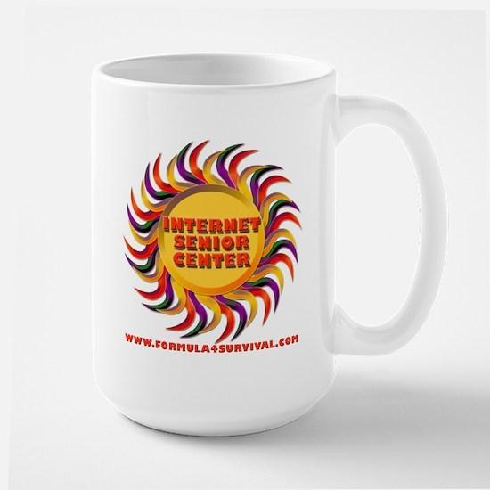 Internet Senior Center Large Mug