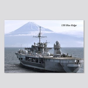 USS Blue Ridge Postcards (Package of 8)