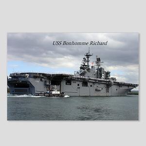USS Bonhomme Richard Postcards (Package of 8)