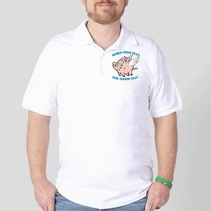 When Pigs Fly? The Swine Flu Golf Shirt