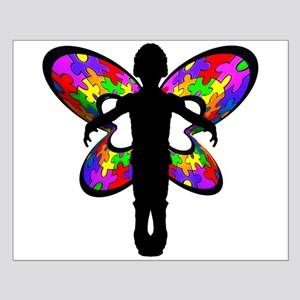 Autistic Butterfly Small Poster