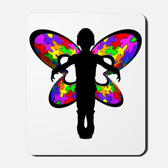 Autistic Butterfly Mousepad