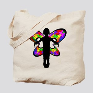 Autistic Butterfly Tote Bag