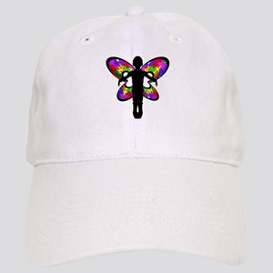 Autistic Butterfly Cap