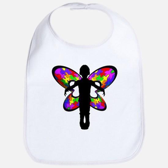 Autistic Butterfly Bib