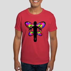 Autistic Butterfly Dark T-Shirt