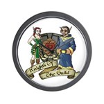 Knights of the Guild Wall Clock
