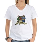 Knights of the Guild Women's V-Neck T-Shirt