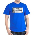 Old Blue Car License Plate T-Shirt