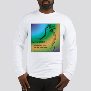 Llamatude Cool Rain Long Sleeve T-Shirt