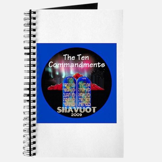 Shavuot Ten Laws Journal
