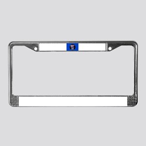 Shavuot Ten Laws License Plate Frame