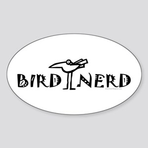 Birding, Ornithology Sticker (Oval)