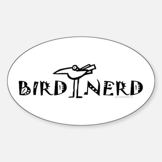 Birding, Ornithology Sticker (Oval)