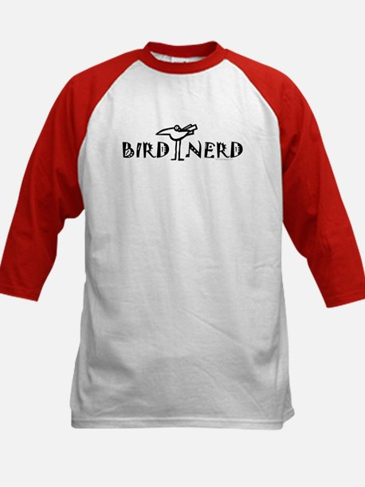 Birding, Ornithology Kids Baseball Jersey