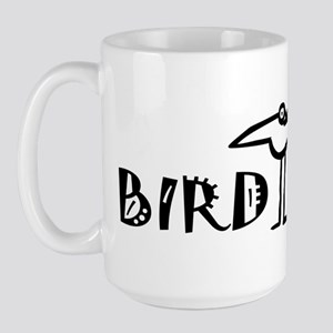 Birding, Ornithology Large Mug
