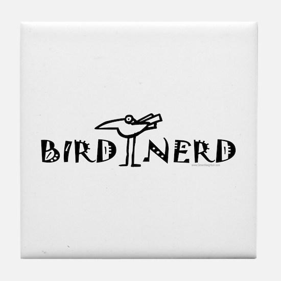 Birding, Ornithology Tile Coaster