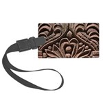 Harlem Brownstone Detail Large Luggage Tag