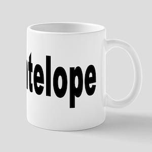 I Love Antelope Mug