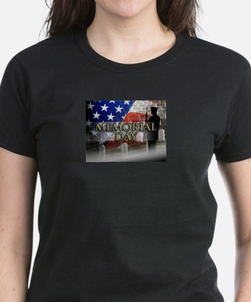 Memorial Day Women's Dark T-Shirt