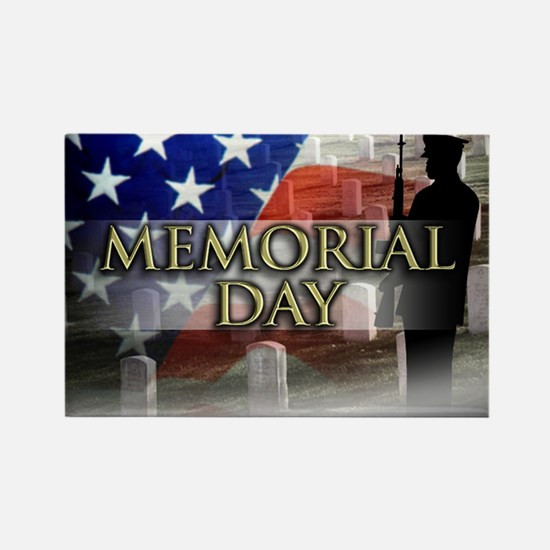 Memorial Day Rectangle Magnet (100 pack)