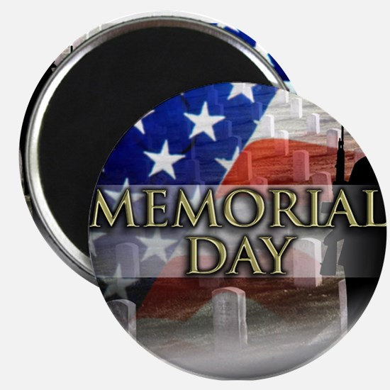 "Memorial Day 2.25"" Magnet (10 pack)"