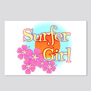 Surfer Girl Postcards (Package of 8)