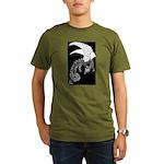 Whitewinged/blackback Dragon Organic Men's T-Shirt