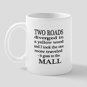 Road to the Mall Mug