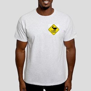Grandma Got Run Over Ash Grey T-Shirt