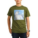 Blue Unicorn Dream Organic Men's T-Shirt (dark)
