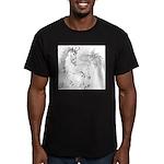 Unicornis! Men's Fitted T-Shirt (dark)