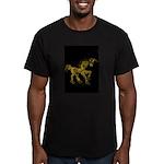 Invitation to the Unicorn Men's Fitted T-Shirt (da