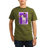 Sunflower Unicorn Organic Men's T-Shirt (dark)