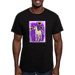 Sunflower Unicorn Men's Fitted T-Shirt (dark)