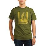Diamond Horse Organic Men's T-Shirt (dark)