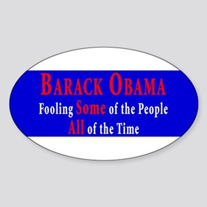 Anti-Obama Oval Sticker