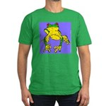 Red Eyed Tree Frog Men's Fitted T-Shirt (dark)
