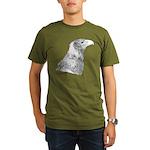 Wedge Tailed Eagle Fine Organic Men's T-Shirt (dar