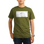 Thylacinus Cynocephalus Organic Men's T-Shirt (dar