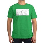 Thylacinus Cynocephalus Men's Fitted T-Shirt (dark